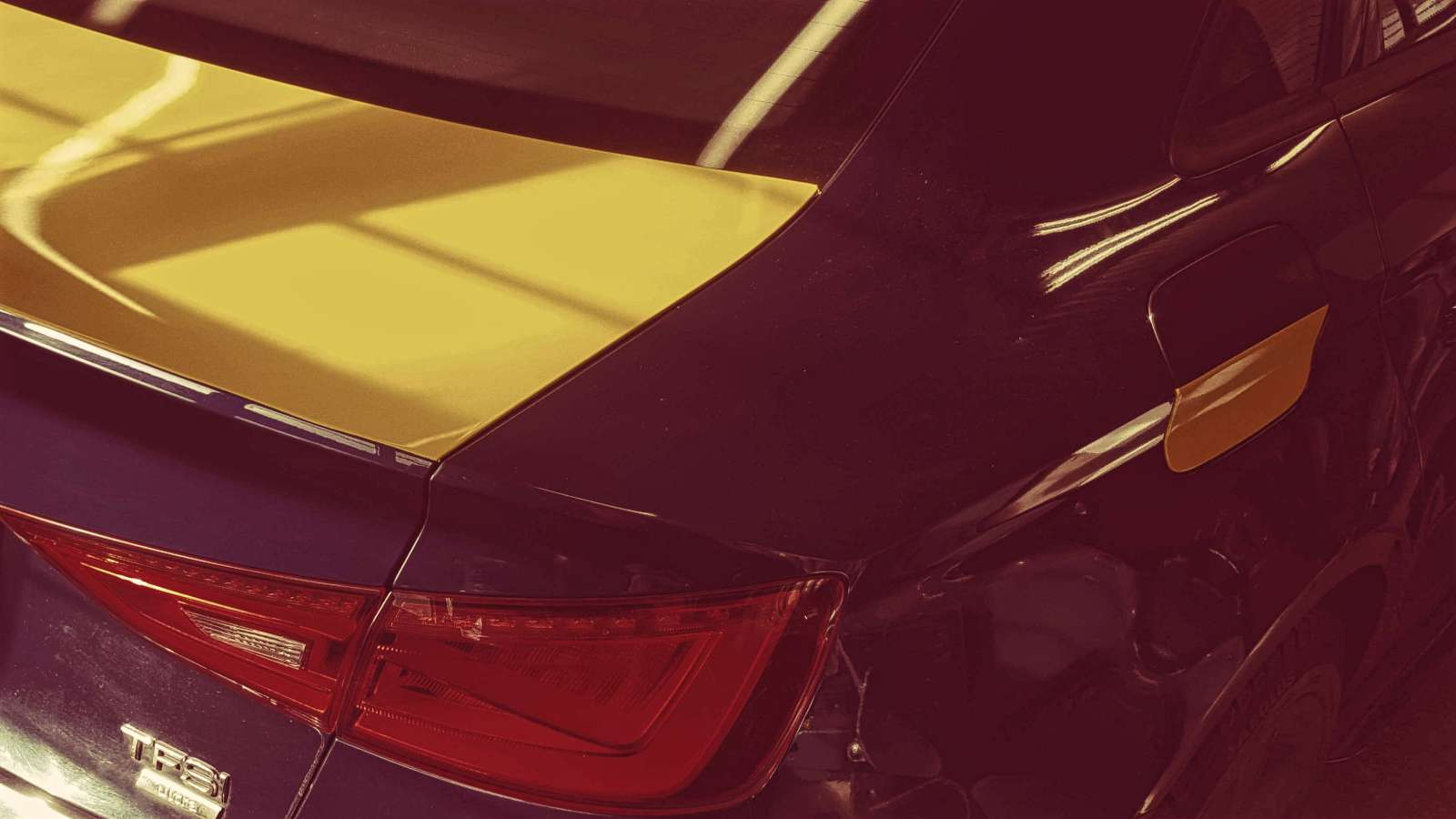 Audi A3 yliteippaus